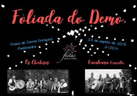 cartaz foliada do demo 2018
